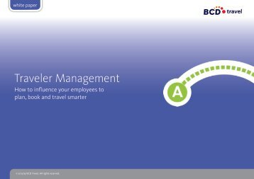 Traveler Management - BCD Travel