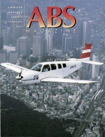 February 2003 - American Bonanza Society