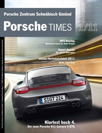 Ausgabe 1/11 - Porsche