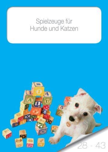 Spielzeuge für Hunde und Katzen