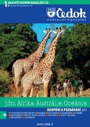 jižní Afrika, Austrálie, Oceánie