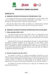 PROPUESTA SOBRE SALARIOS - fsiegalicia.es