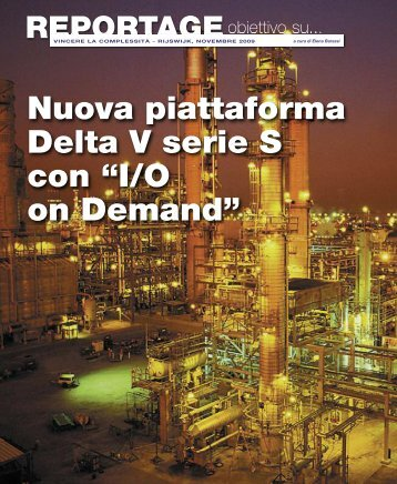"""Nuova piattaforma Delta V serie S con """"I/O on ... - Promedianet.it"""