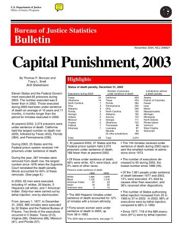 an overview of supporters and opponents views on capital punishment According to proponents of capital punishment, which of the following is a true statement  if united states support capital punishment would be willing t abandon.
