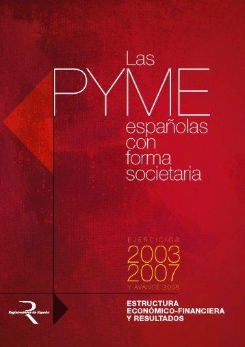 Las PYME españolas con forma societaria - Expansión