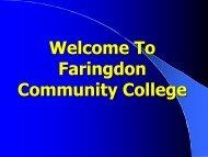 Part 1 - Faringdon Community College