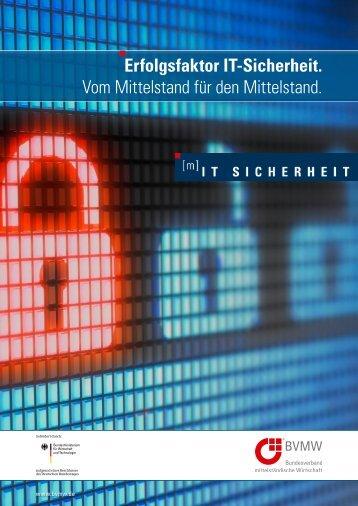 Erfolgsfaktor IT-Sicherheit - IT-Sicherheit in der Wirtschaft