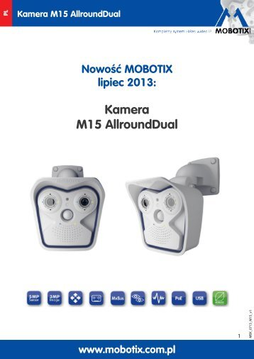 Kamera M15 AllroundDual - Mobotix