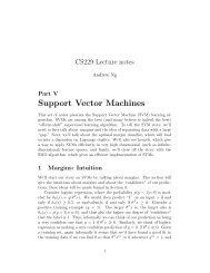 CS 229 Midterm Review Handout