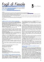 ottobre 2012 - Comune di Fiesole