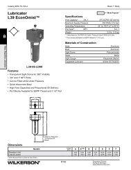 L39 Series - Wilkerson Corporation