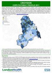 COPD profile: NHS Croydon - London Health Programmes