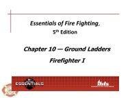 Ground Ladders - Tigerville FD