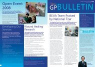 GP Bulletin - Bradford Teaching Hospitals NHS Foundation Trust