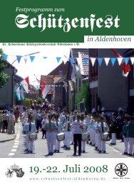 2008 - St. Sebastianus Schützenbruderschaft Aldenhoven