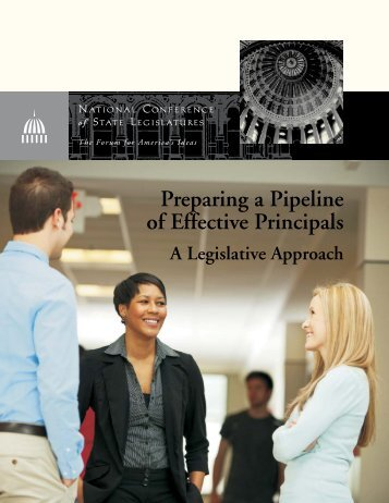 Preparing a Pipeline of Effective Principals - American Association ...