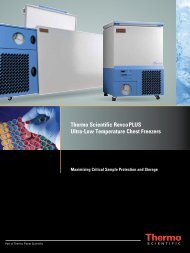 Ultra-Low Temperature Chest Freezers - VDW CoolSystems