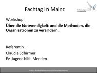 Vortrag von Frau Claudia Schirmer