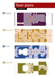 floor plans - World Forum