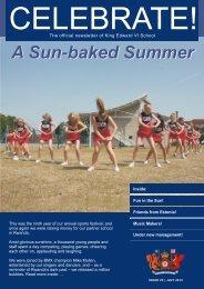 Celebrate, Issue 23 - July 2013 - King Edward VI School
