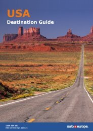 Travel & Driving Guide - Services Home