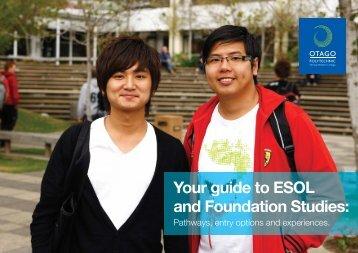 ESOL information - Education Dunedin
