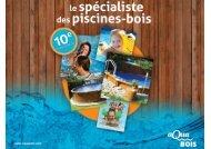 Télécharger la brochure - Club piscine 2001