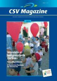 scarica la rivista - CSV Catanzaro