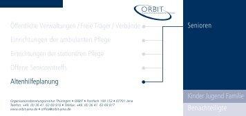 Altenhilfeplanung - Orbit-jena.de