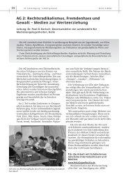 AG 2: Rechtsradikalismus, Fremdenhass und Gewalt – Medien zur ...