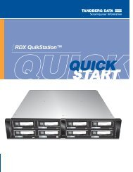 RDX QuikStation QSG online 1019372 B_1 - Tandberg Data