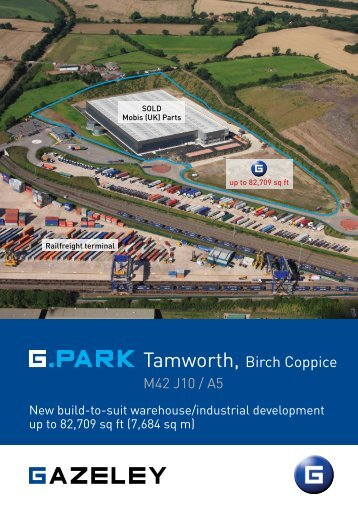 Tamworth, Birch Coppice - Savills