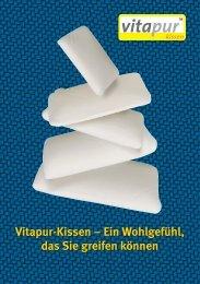 Vitapur-Kissen – Ein Wohlgefühl, das Sie greifen können - Vitaform