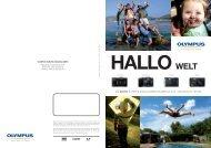 die neuen olympus digitalkompaktkameras 2012 – entwickelt für sie.