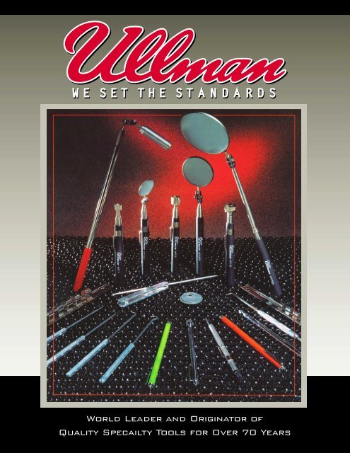 """hte2 Ullman Devices Corp HTE-2T 1-1//4/"""" Pocket Telescopic Inspection Mirror"""