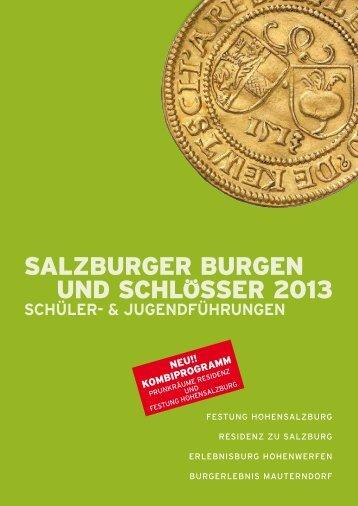 Schuler- & Jugendführungen zum Downloaden 2013 - Salzburgs ...