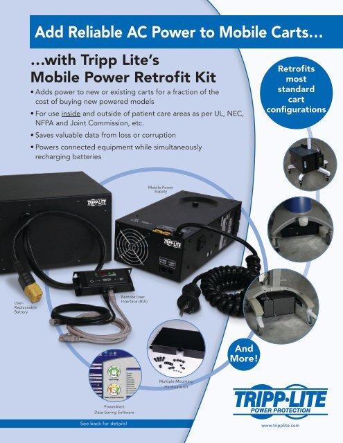 Tripp Lite Mobile Power Retrofit Kit Flyer English 200908043