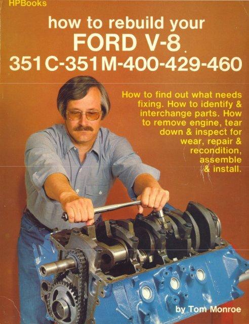 Ford 428 engine kit 1966 67 68 69 70 bearings timing oil pump bearings gaskets+