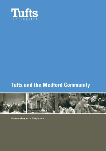 Tufts and the Medford Community - Community Relations - Tufts ...