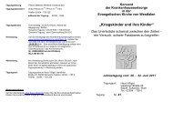 flyer - Evangelische Krankenhausseelsorge in Westfalen