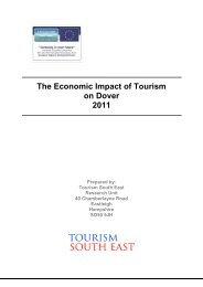 Maidstone Tourism Economic Impact Estimates - Visit Kent Business
