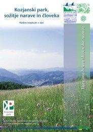Zgibanka Kozjanski park - Natura 2000