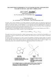 transmitters interference to victim receivers and ... - the URSI Website