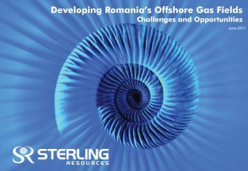 Developing Romania's Offshore Gas Fields - Petroleumclub.ro