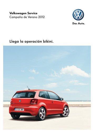 Llega la operación bikini. - Volkswagen España
