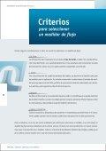Criterios para seleccionar un medidor de flujo - Tuthill Latinamerica - Page 4