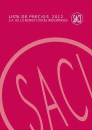 LISTA DE PRECIOS 2012 - Dielectro Industrial