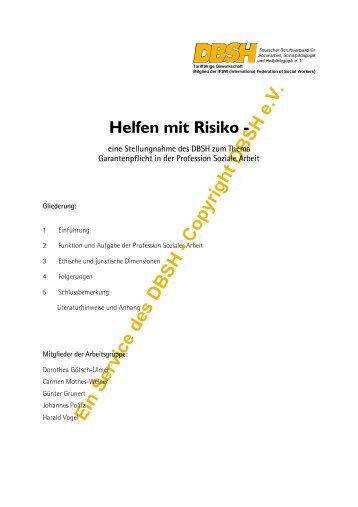 Ein Service des DBSH - Copyright DBSH e.V. - DBSH Deutscher ...