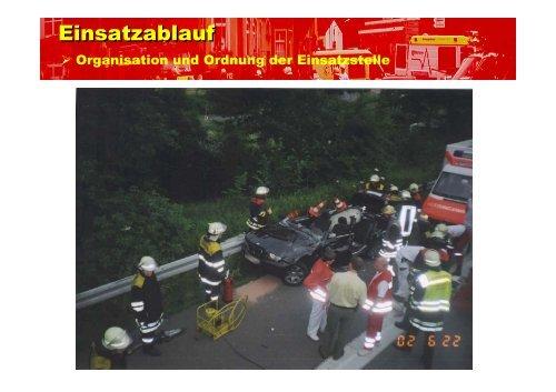 Einsatzablauf - bei der Freiwilligen Feuerwehr Bindsachsen!