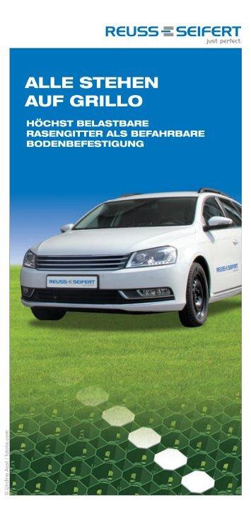 ALLE STEHEN AUF GRILLO - Reuss-Seifert GmbH